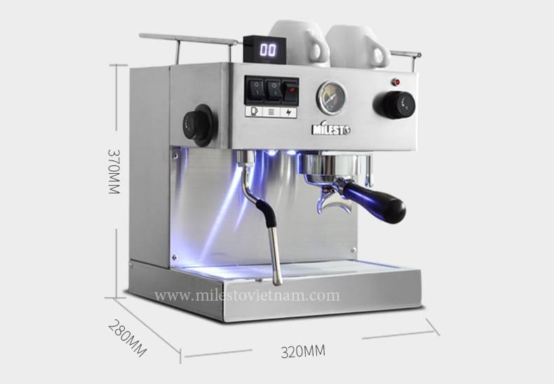Máy pha cafe Milesto M18