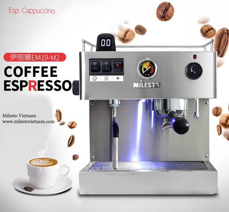 Địa chỉ bán máy pha cafe Milesto tại Việt Nam