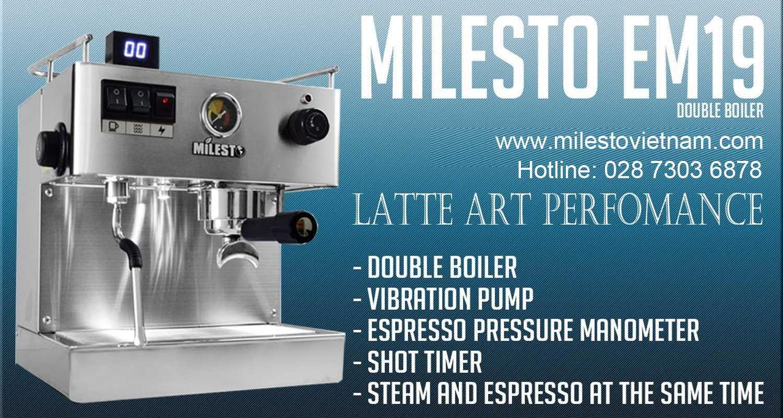 Máy pha cafe Milesto
